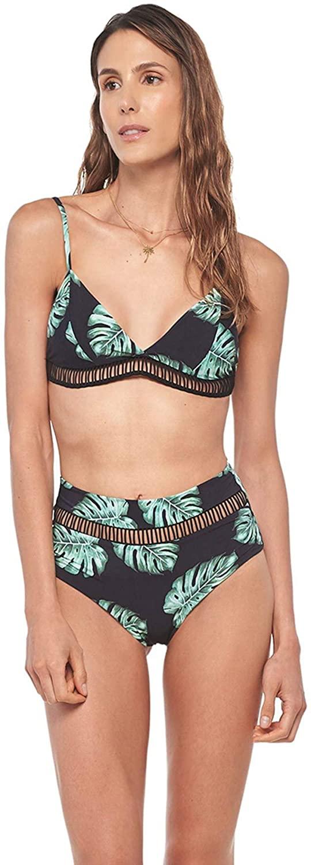 Malai Women's Tender Balazo Clif Banded Triangle Bikini Top