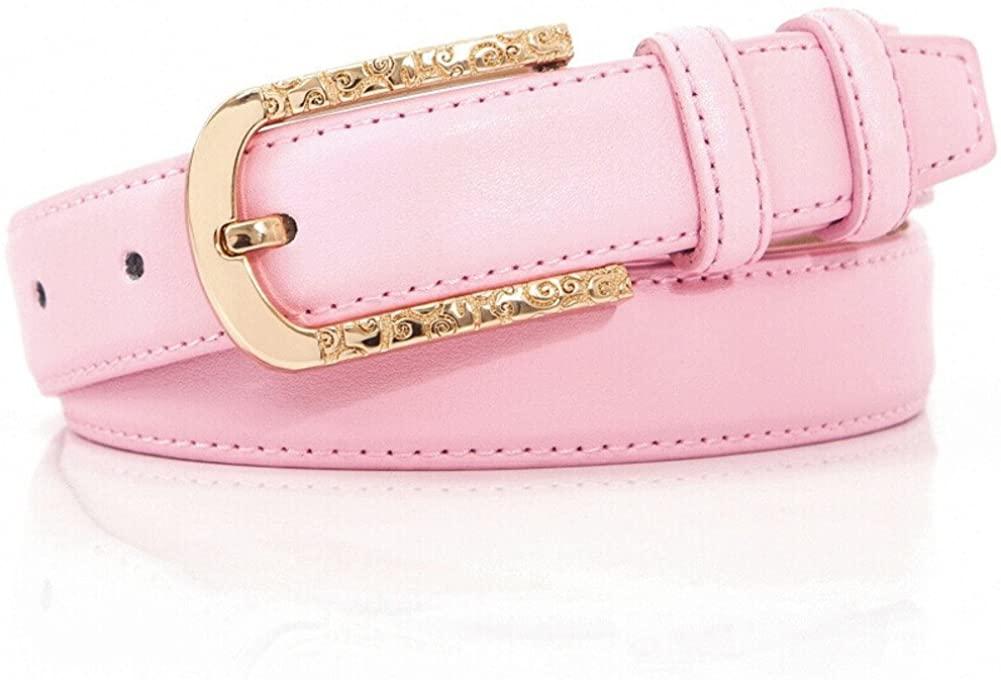 Ladies Pin Buckles Belt,Simple Stylish Jeans Casual Wear Decoration Belt