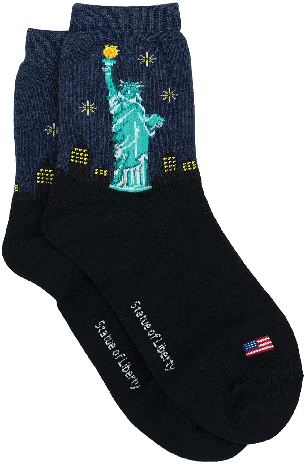 GGorangNae - Statue of Liberty Women's Ankle Socks by Bamboo Trading Company