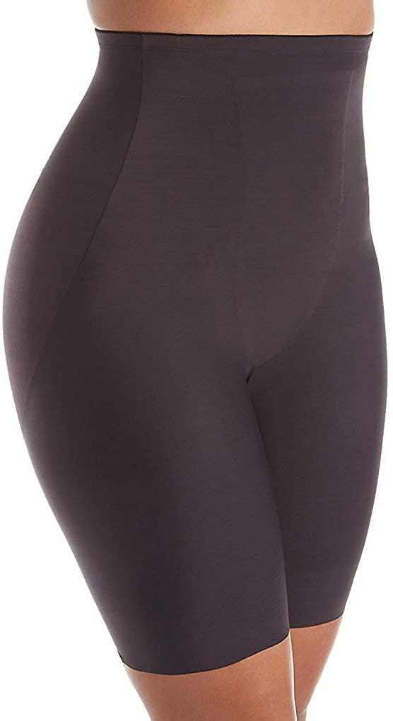 TC Fine Intimates Women's Plus Size Just Enough Hi-Waist Thigh Slimmer 4009