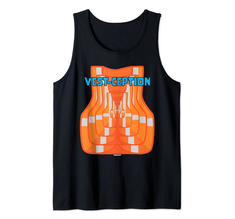 VestCeption Swagazon Associate Coworker Employee Swag Gift Tank Top