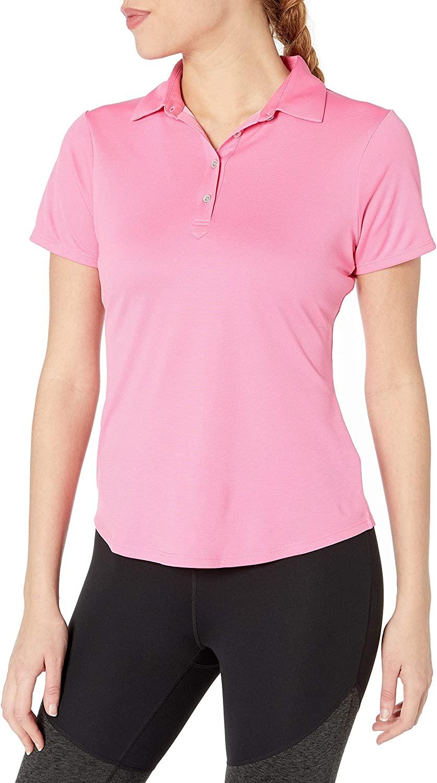 Cutter & Buck Women's Moisture Wicking 50+ UPF Short Sleeve Fiona Polo Shirt