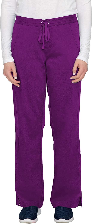 healing hands Purple Label Women's Taylor 9095 2 Pocket Drawstring Scrub Pant Scrubs- Eggplant- SP