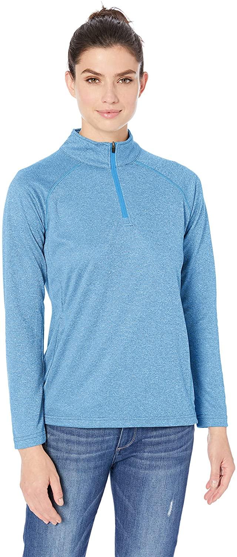 D & Jones Women's Pima Pique Short-Sleeve Polo Shirt