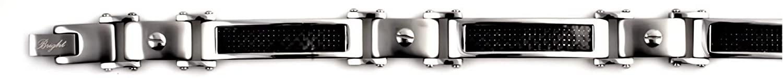 Glitzs Jewels Premium Stainless Steel Bracelet for Men and Women   Jewelry Gift
