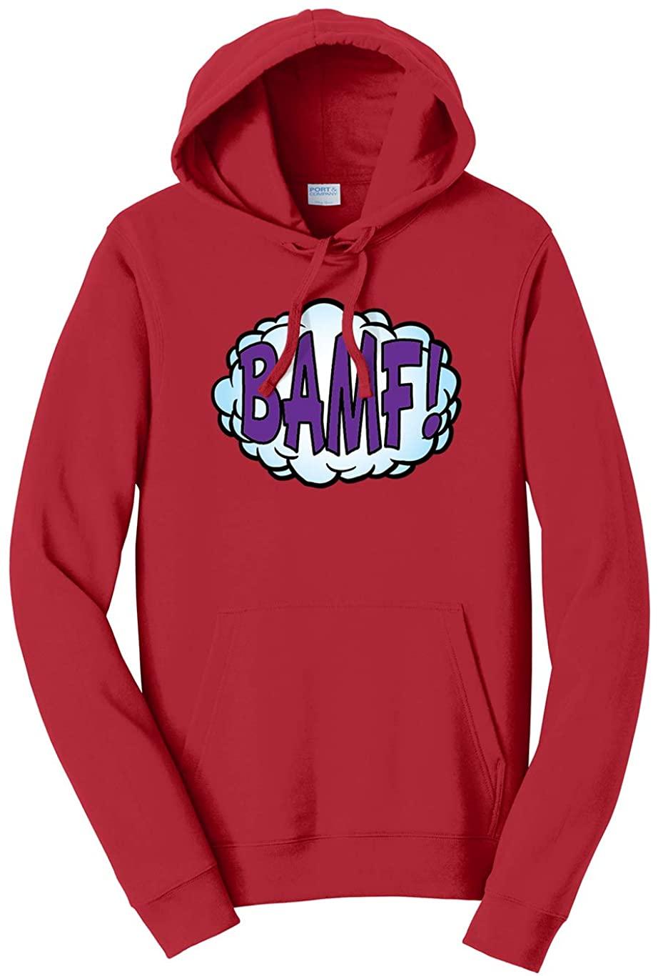Tenacitee Unisex BAMF Comic Hooded Sweatshirt