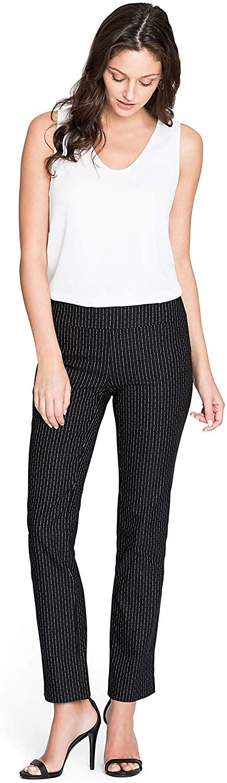 NIC+ZOE Women's Broken Stripe Pant