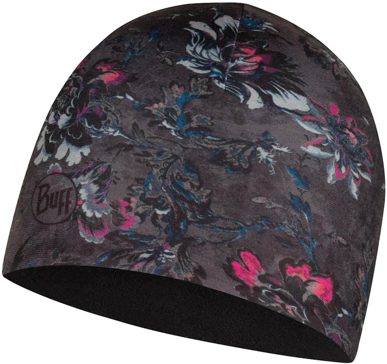 Buff Womens Amur Microfiber & Polar Hat, Black, One Size
