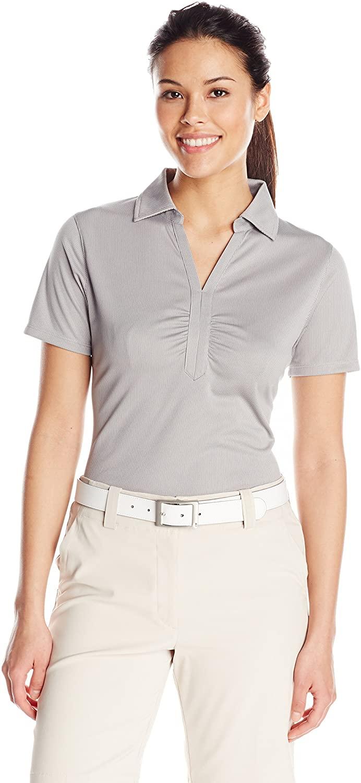 Cutter & Buck Women's Short Cb Drytec Glendale Polo