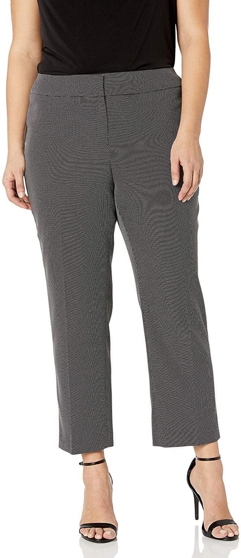 Kasper Women's Pin Dot Trouser Pant