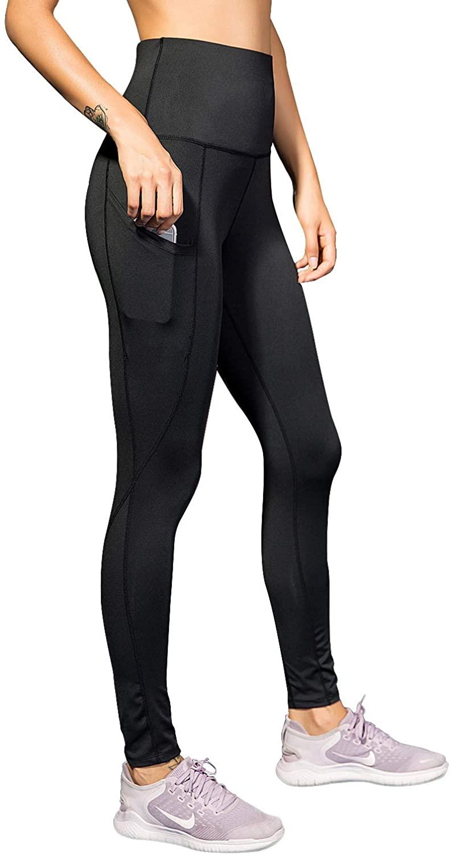 Women's Yoga Paints with Pockets Naked Feeling High Waist Workout Yoga Leggings