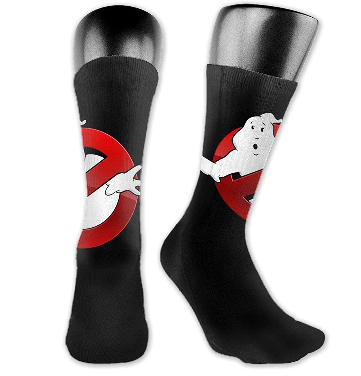 Geek Ghostbusters Medium Long Socks Dress Hose Novelty Short Anklet For Training