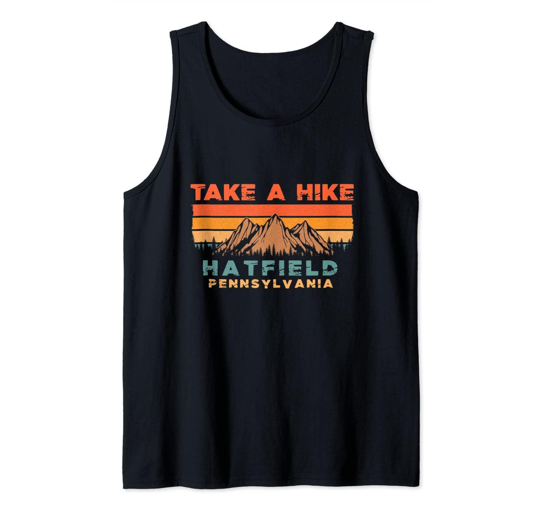 Pennsylvania Vintage Take A Hike Hatfield Moutain Tank Top