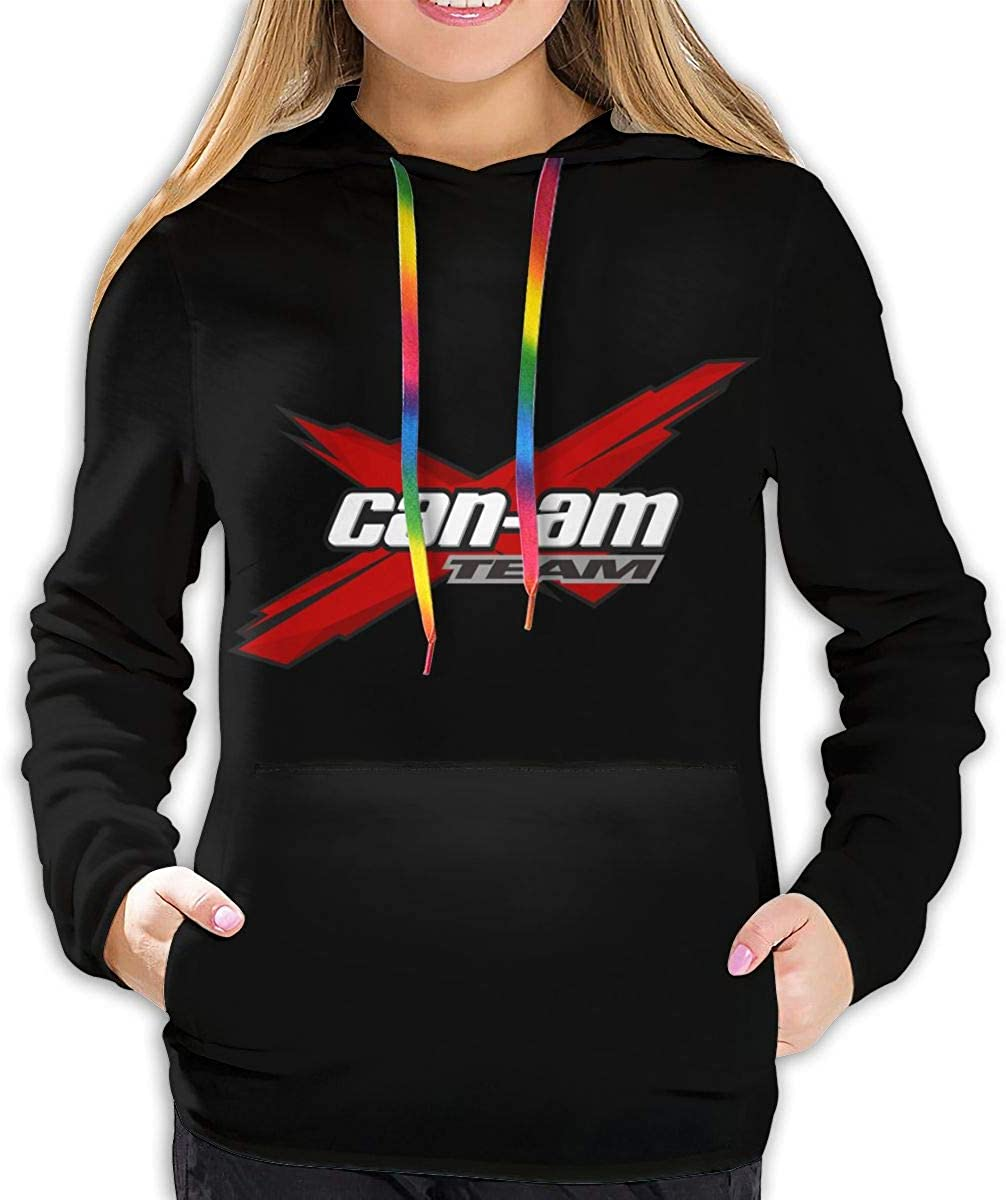 Can Am Team Women's Pullover Sweatshirt Print Hoodies