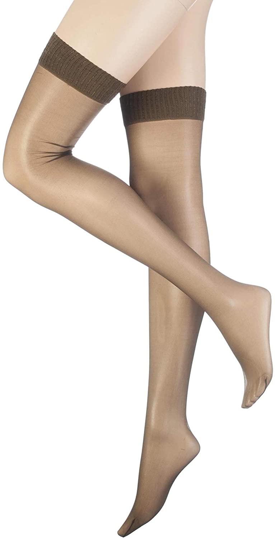 Aristoc Women's 1 Pair 10 Denier Ultra Shine Stockings with Silk Finish