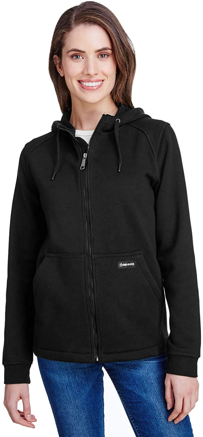 DRI Duck Womens Parker Hooded Full-Zip (9571)