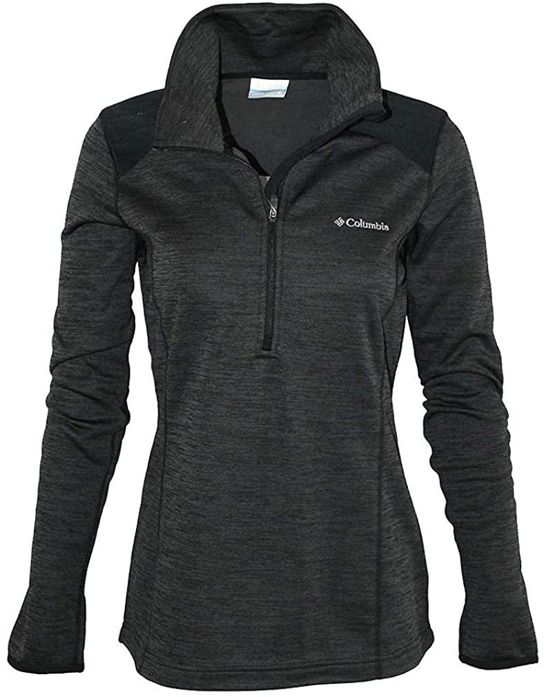 Columbia Womens Rosemont 1/2 Zip Fleece Pullover - XS Black