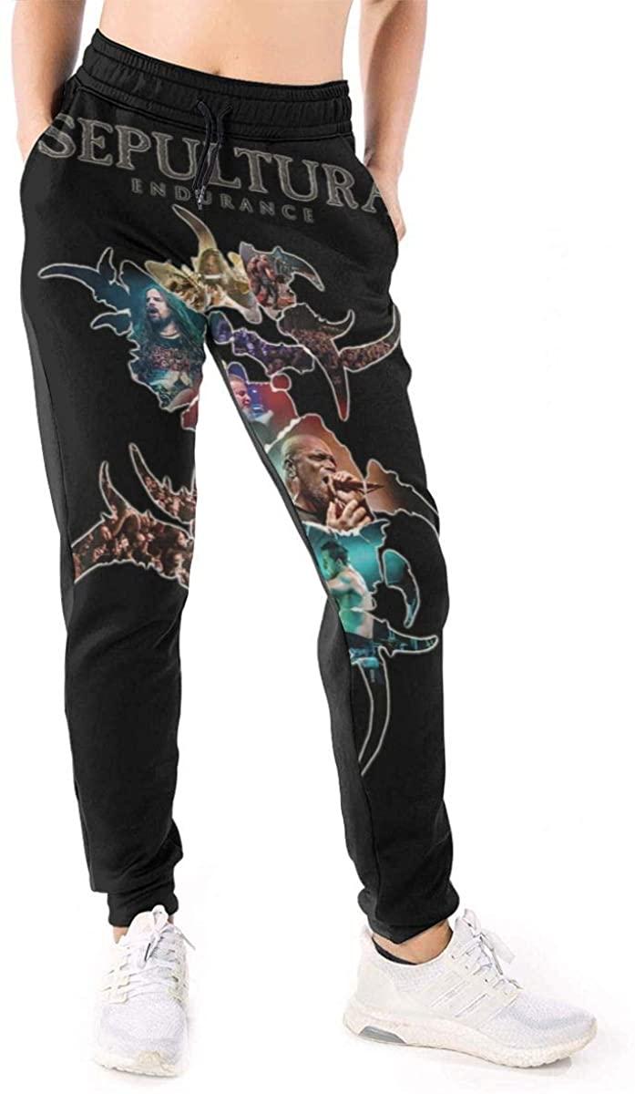 HangHisi Sepultura Women's Casual Pants Sweatpants Joggers Pants Sports Trousers