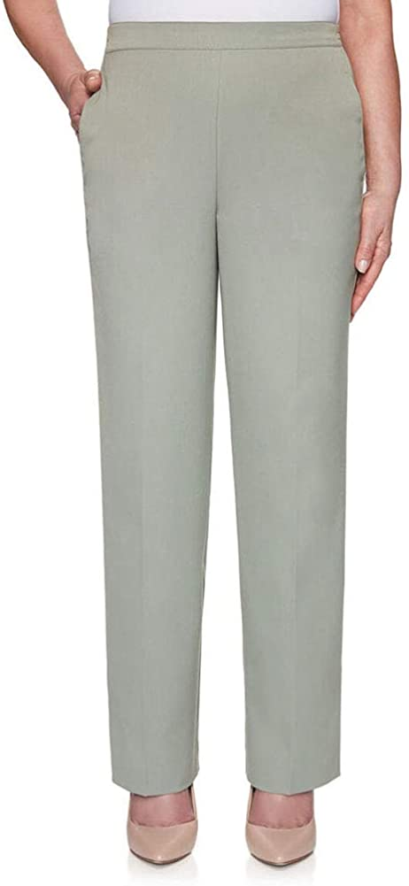Alfred Dunner Women's Petite Twill Proportioned Short Pant