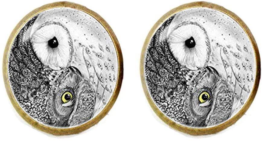 Om Earings, for Women Yoga bijoux Namaste Earings Mandala Jewelry