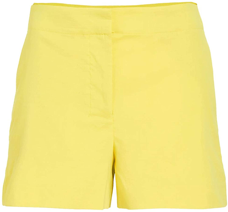 Theory Women's Linen Mini Shorts