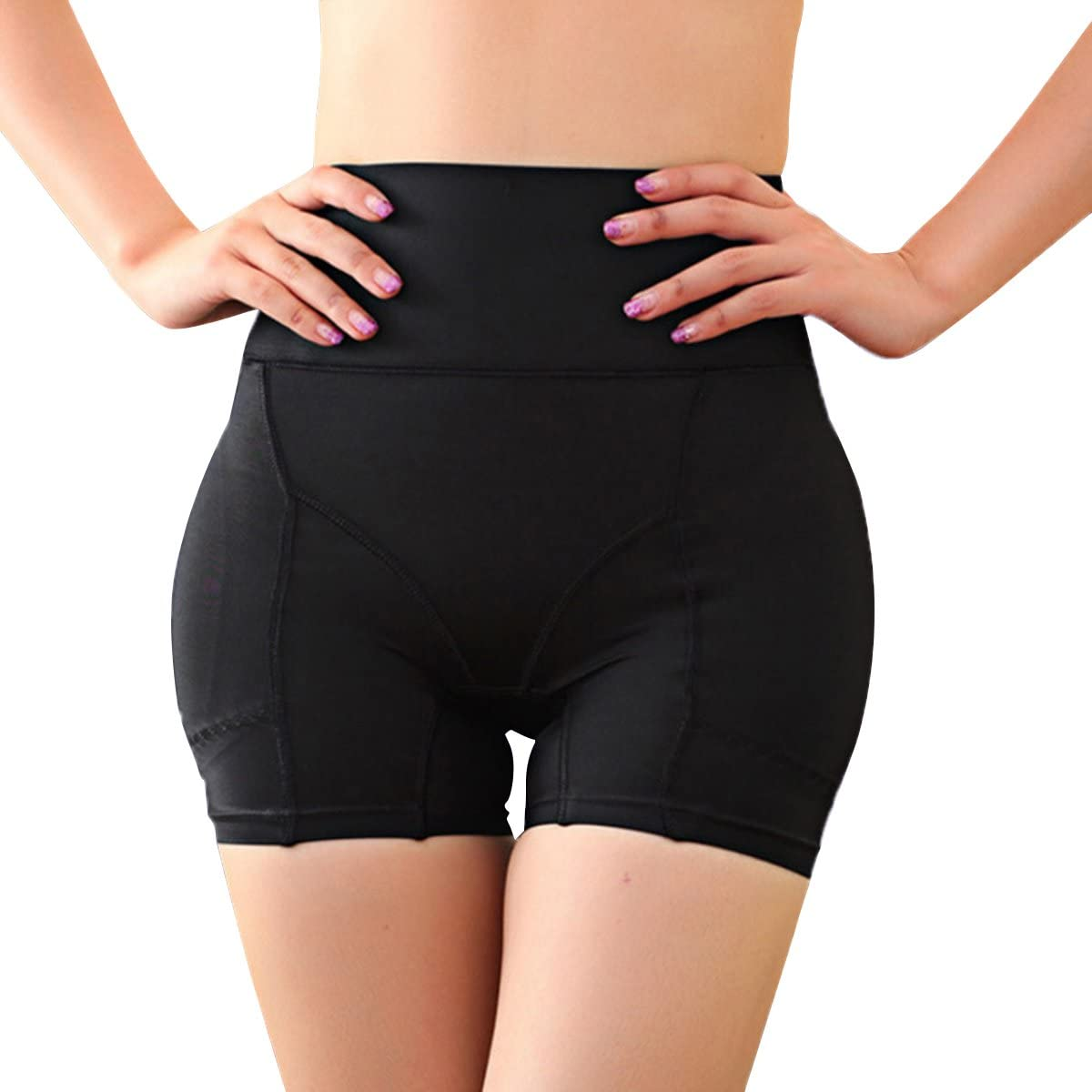 Miureal Women's Hip Enhancer Firm Control Seamless Padded Thigh Slimmer Panties