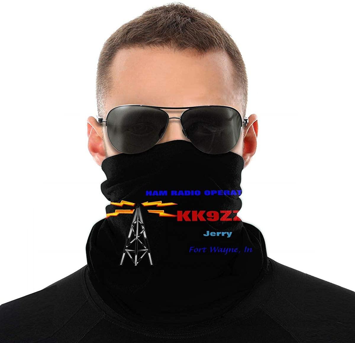 Multifunctional Neck Scarf Bandana Tube Mask For Workout Outdoor Sports Hanko