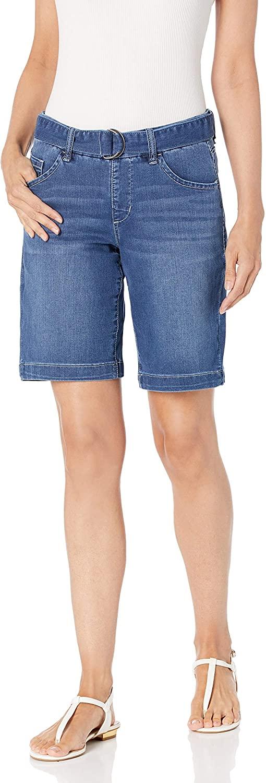 Jag Jeans Womens Thelma Pull on Bermuda W/Belt Short