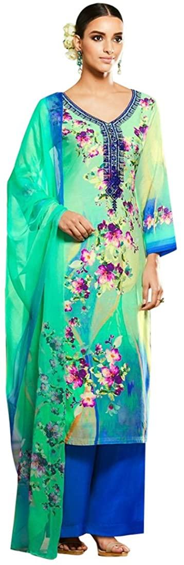 Bollywood Formal Palazzo Straight Salwar kameez Gown Dress Suit Muslim Wedding Custom to Measure Eid 2525