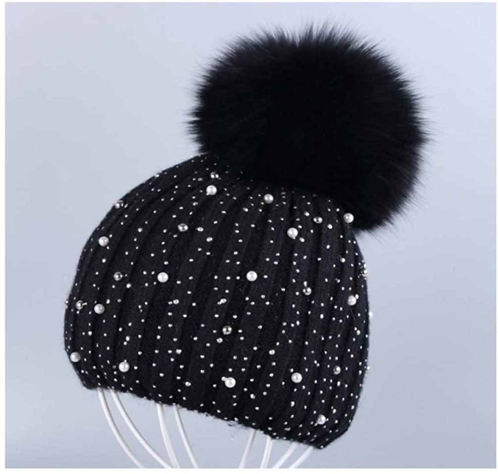 TokLask New Women Cashmere Winter hat Thin Beanies Skullies Cashmere Rhinestone Fashion Winter Hats