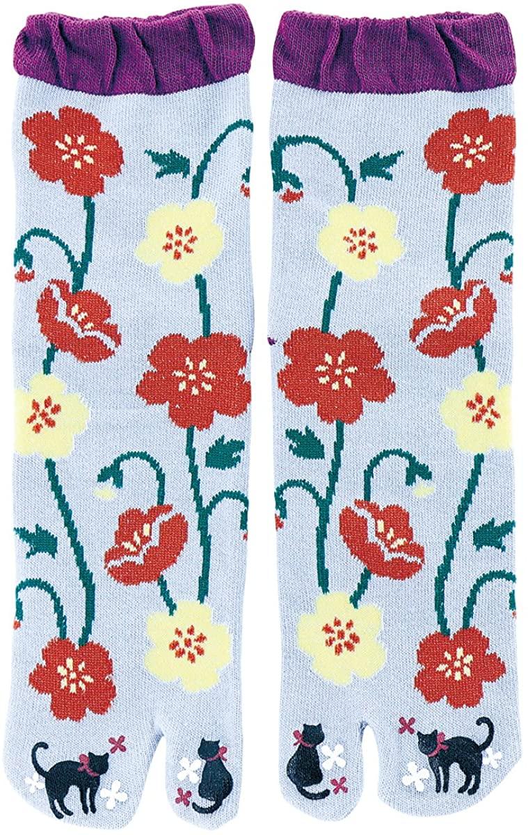 Japanese Tabi Socks Design Tsumasaki Gubijinsou