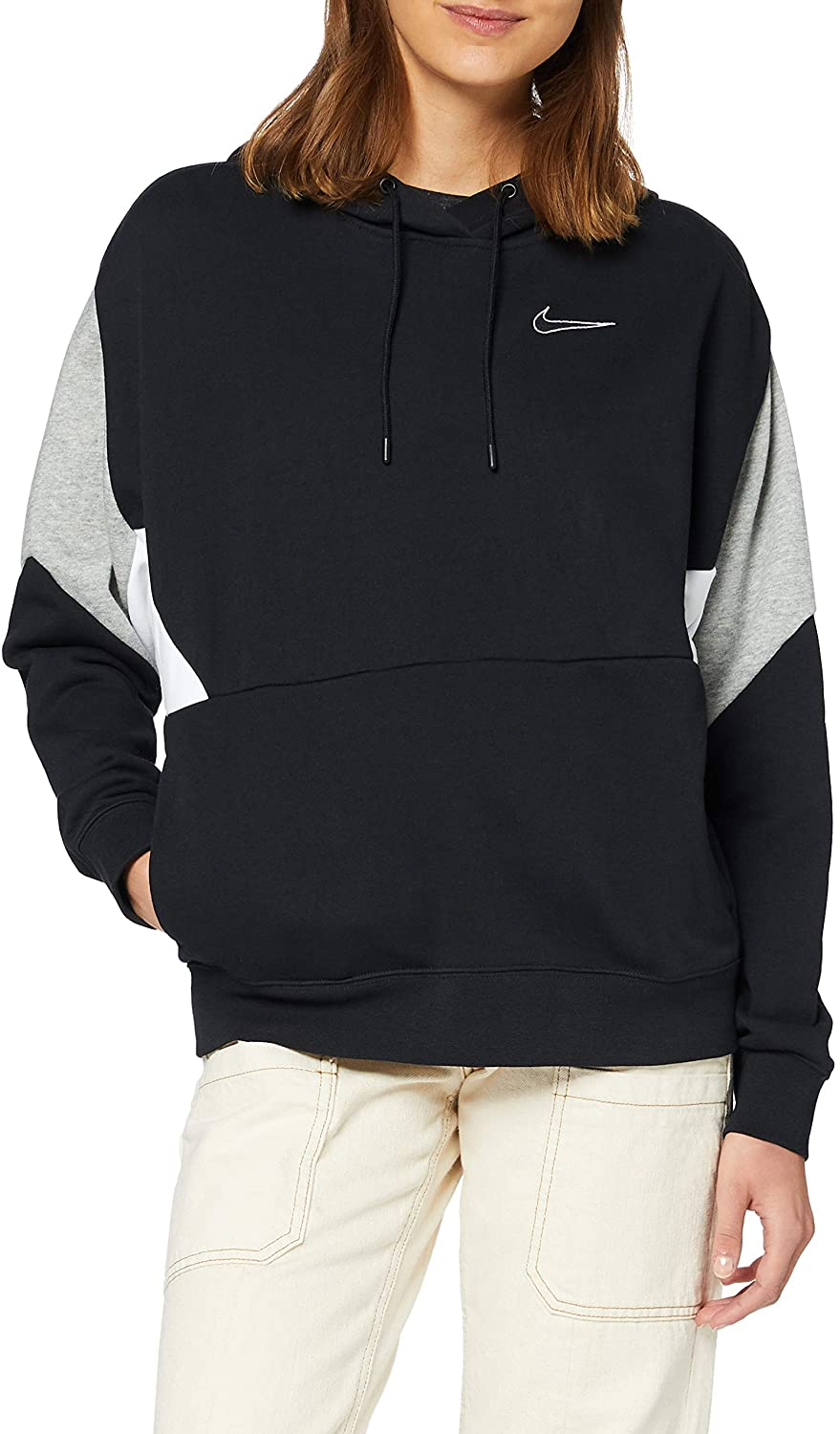 Nike Sportswear Womens French Terry Pullover Hoodie Cj3681-010