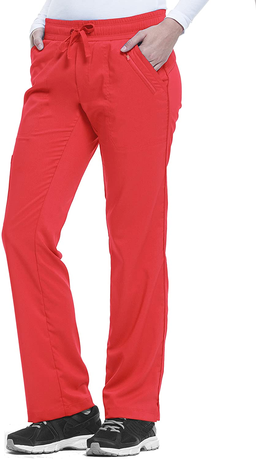 healing hands Purple Label Women's Tanya 9139 Drawstring Pant Red Spice- Small