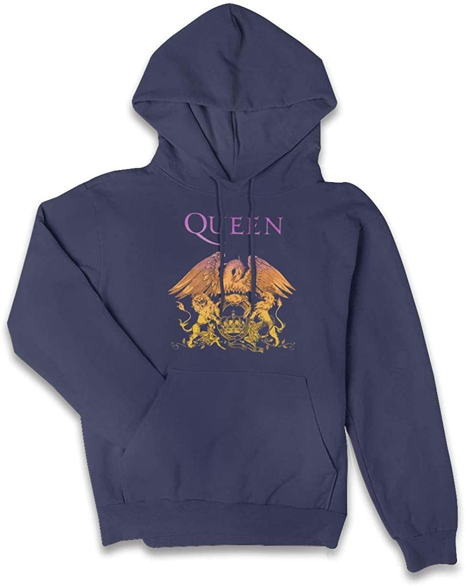 Queen Crest Gradient Women's Sweatshirt Hoodies Pullover