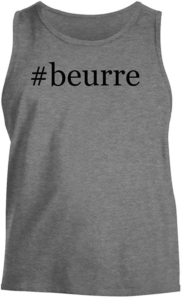 Harding Industries #Beurre - Men's Hashtag Comfortable Tank Top