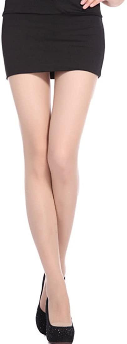 Luckywe High Waist TightsUltrathin Silk Stockings Anti Defiler Transparent Thigh High Stockings