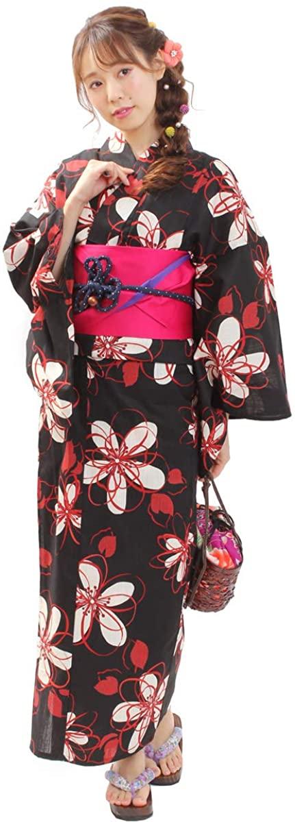 Japanese Dyeing Kimono Yukata Reversible OBI Belt Set of 2 02