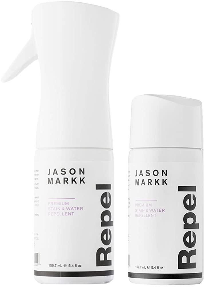 Jason Markk Unisex Repel Shoe Spray with Refill (2 Bottles Combo) White