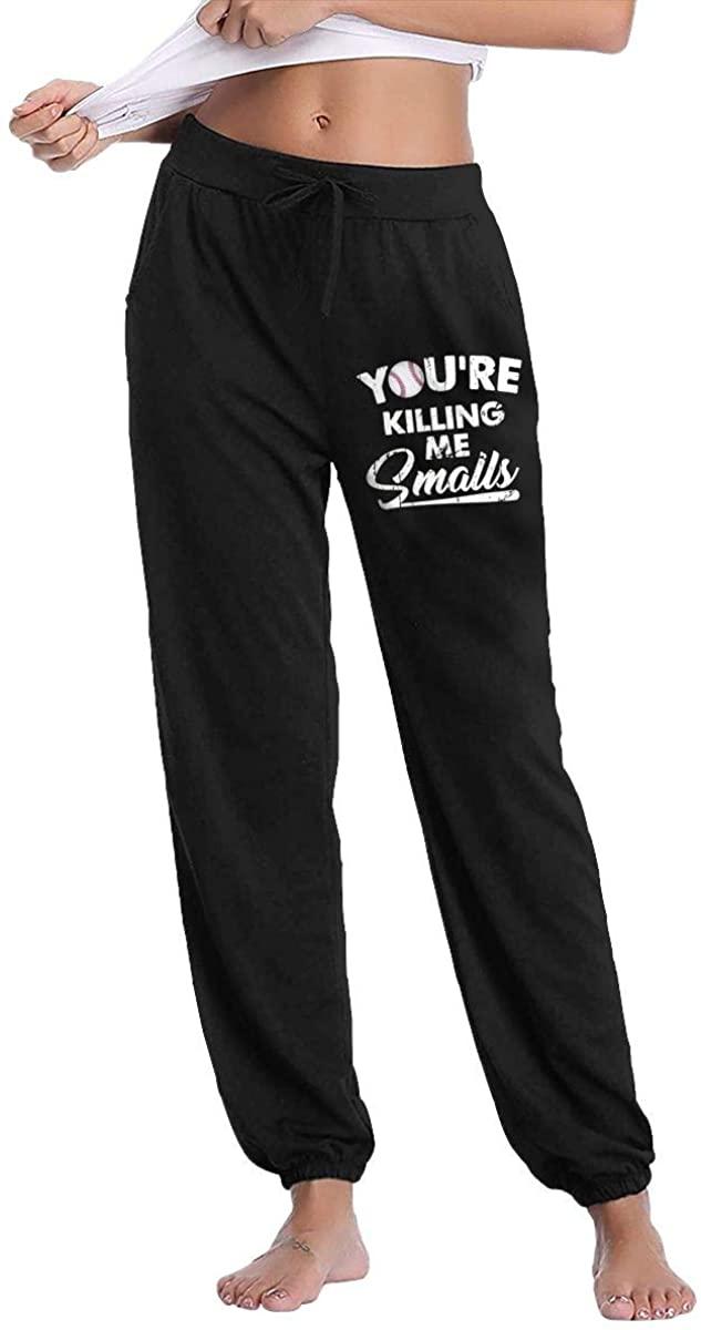 NOT You're Killing Me Smalls Leisure Sports Breathable Women's Long Pants Sleep Pants Sweatpants