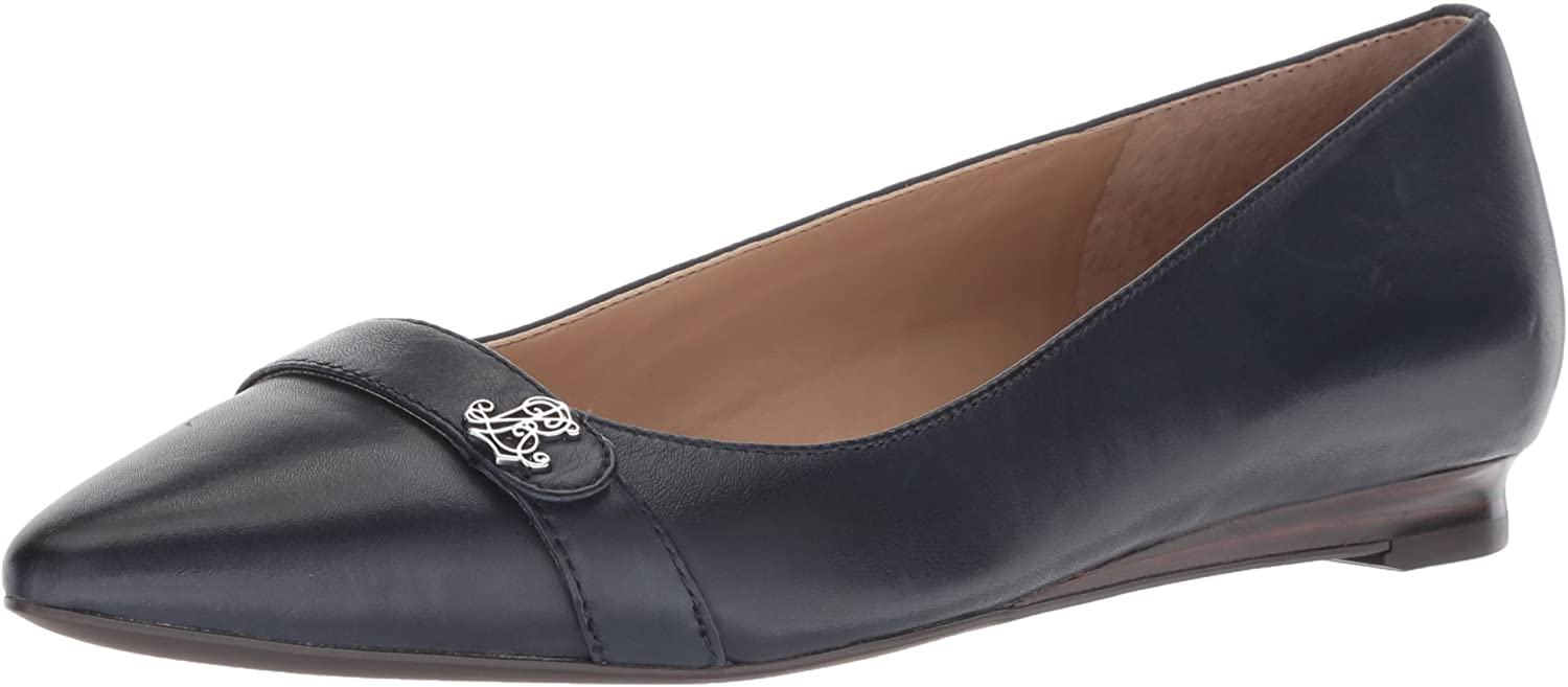 Lauren by Ralph Lauren Womens Aminah Loafer Flat