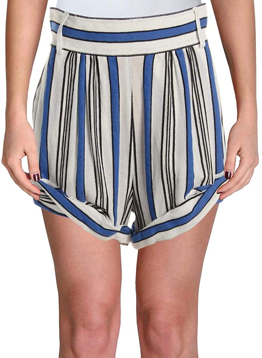 philosophy Womens Crepe High Waist Dress Shorts
