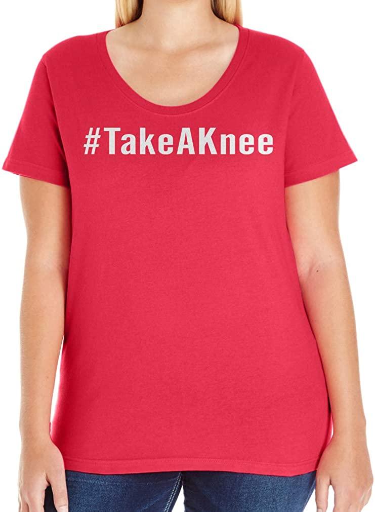 Tenacitee Women's Take a Knee T-Shirt
