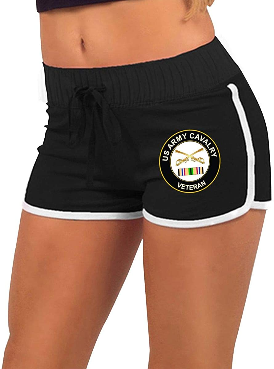 RNWV & PANT Army Special Forces Gulf War Veteran Women Running Yoga Gym Comfy Fitted Sexy Low Waist Shorts