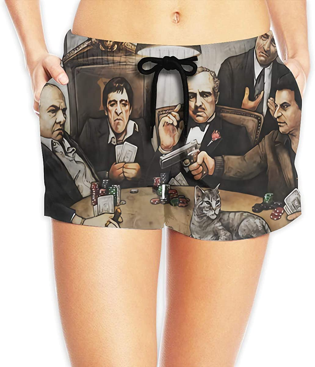 Women Sexy Hot Pants Summer Casual Shorts The Godfather Short Beach Trousers