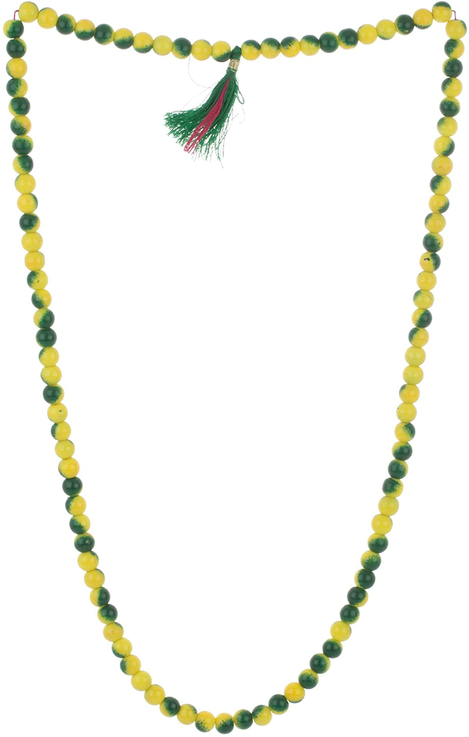 Astrology Paradise Glass Blend Of Colors Necklace