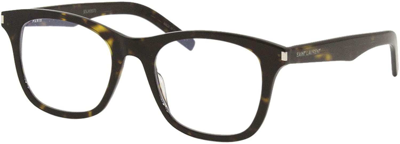 Saint Laurent SL 286 SLIM DARK HAVANA 50/20/150 unisex eyewear frame