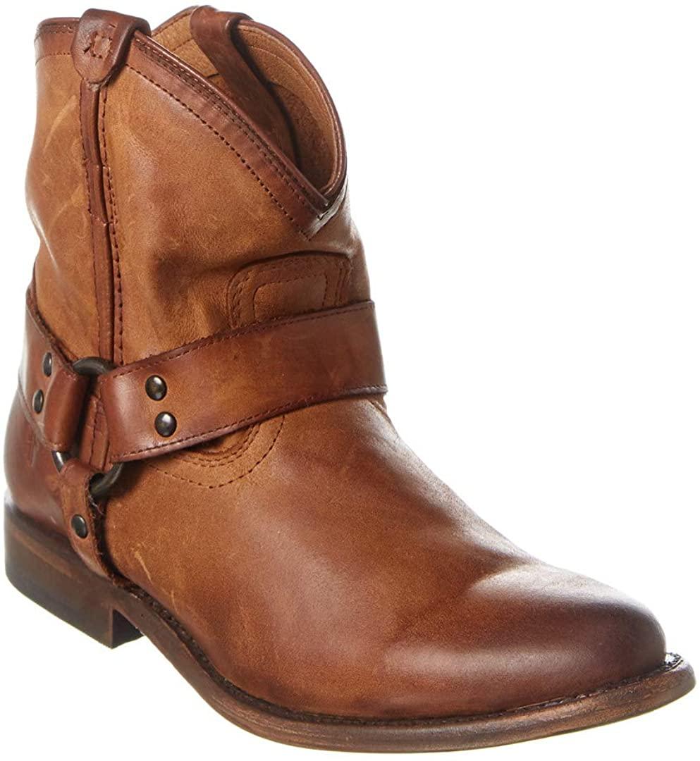 Frye Women's Wyatt Harness Short Boot
