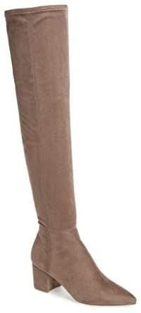Steve Madden Womens brinkly Suede Pointed Toe Knee High Fashion Boots