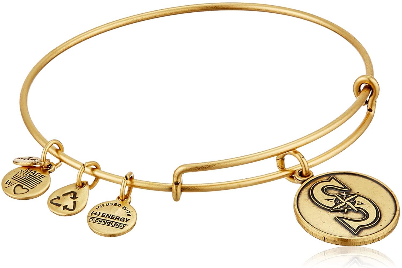 Alex and Ani Seattle Mariners Cap Logo Expandable Bangle Bracelet