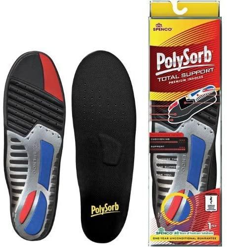Spenco PolySorb Total Support ( Size 5 - Men's shoe 12-13 )